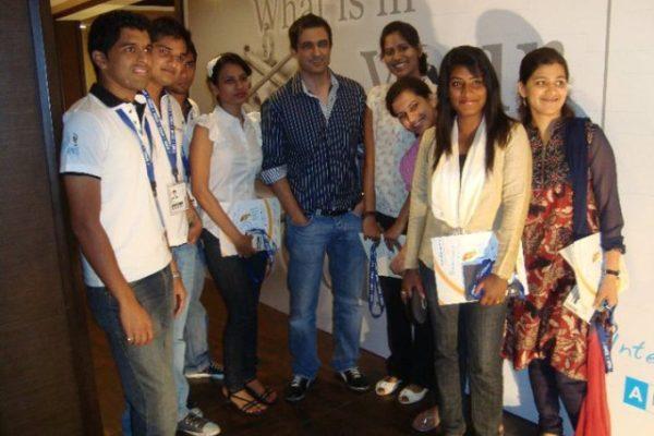 With Sanjay Suri at Goa