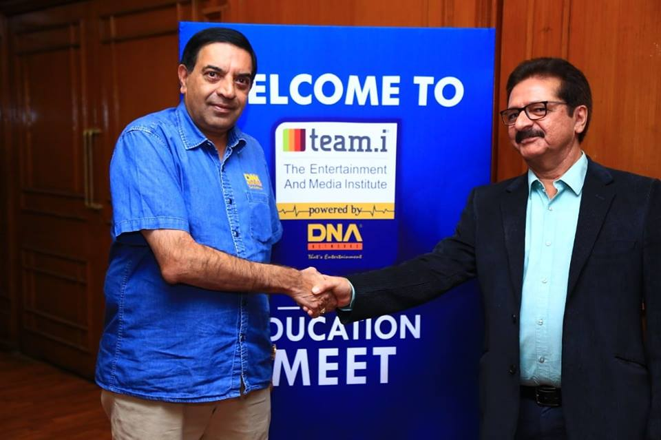 DNA Entertainment Networks  and team.i, help to enhance learning and create industry ready professionals