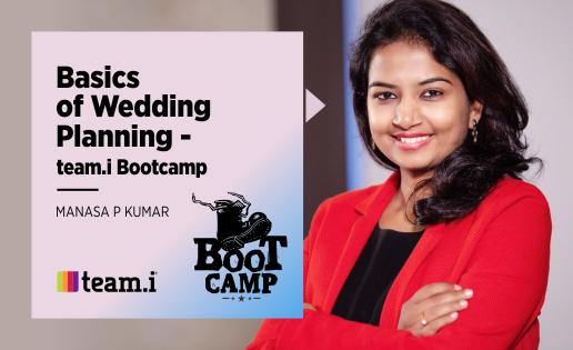 Basics Of Wedding Planning – team.i Bootcamp