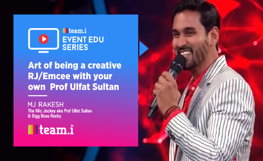Art of being a Creative RJ/Emcee by MJ Rakesh