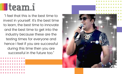 Paradigm Shift in the Event Space: In conversation with Star Singer Shankar