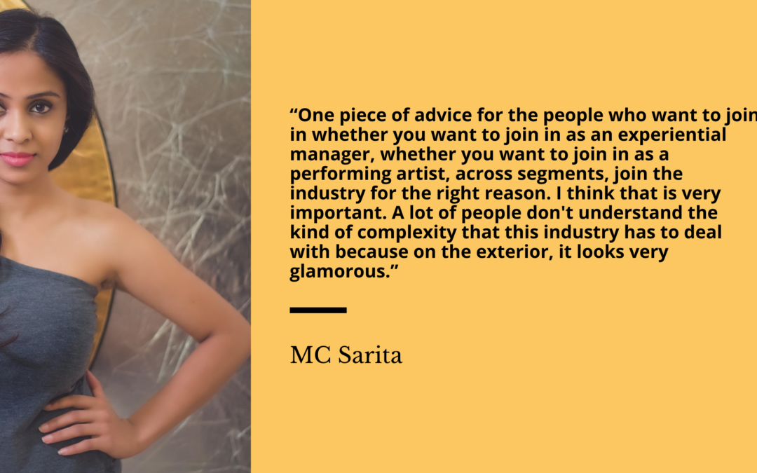 On-ground vs Virtual Events and Opportunities for the Future: In Conversations with Sarita Raghuvanshi, celebrity and renowned MC and Image Consultant.