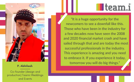 An Interview with Abhilash Prakash From 'Taarini Weddings and Events'