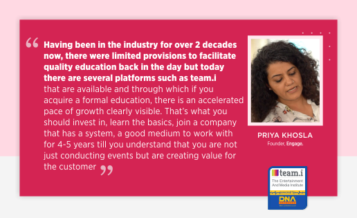 An Interview with Priya Khosla from 'ENGAGE'