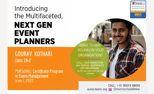 An Interview with Gourav Kothari, team.i Student