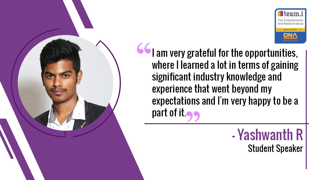 An Interview with Yashwanth R from team.i