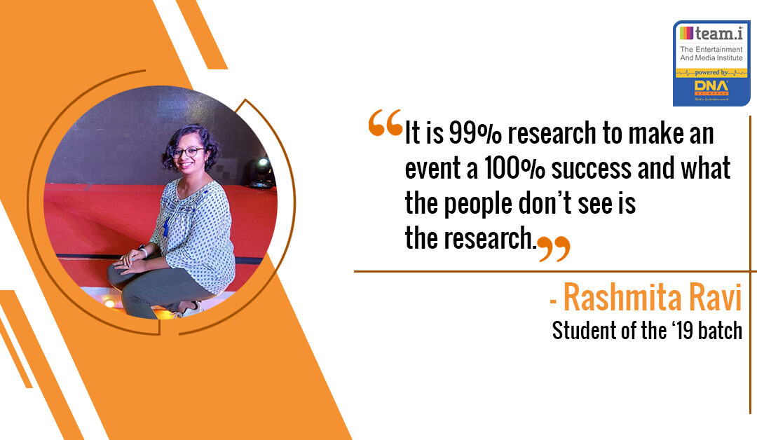 Our Student Rashmita's First Ever Event Experience