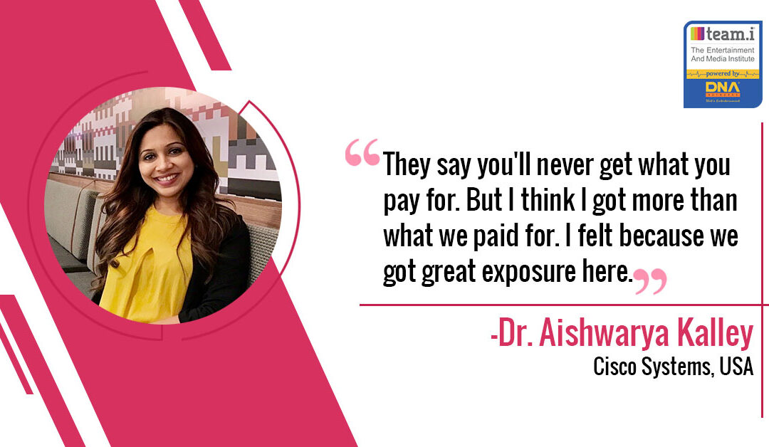 Interview with Dr. Aishwarya Kalley