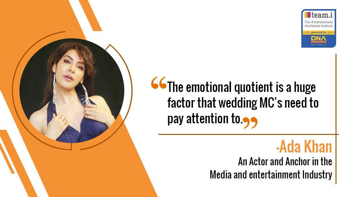 MCing in Weddings by Ada Khan