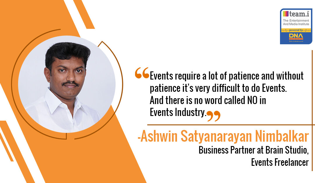 The Institute Helped Ashwin To Overcome His Shyness