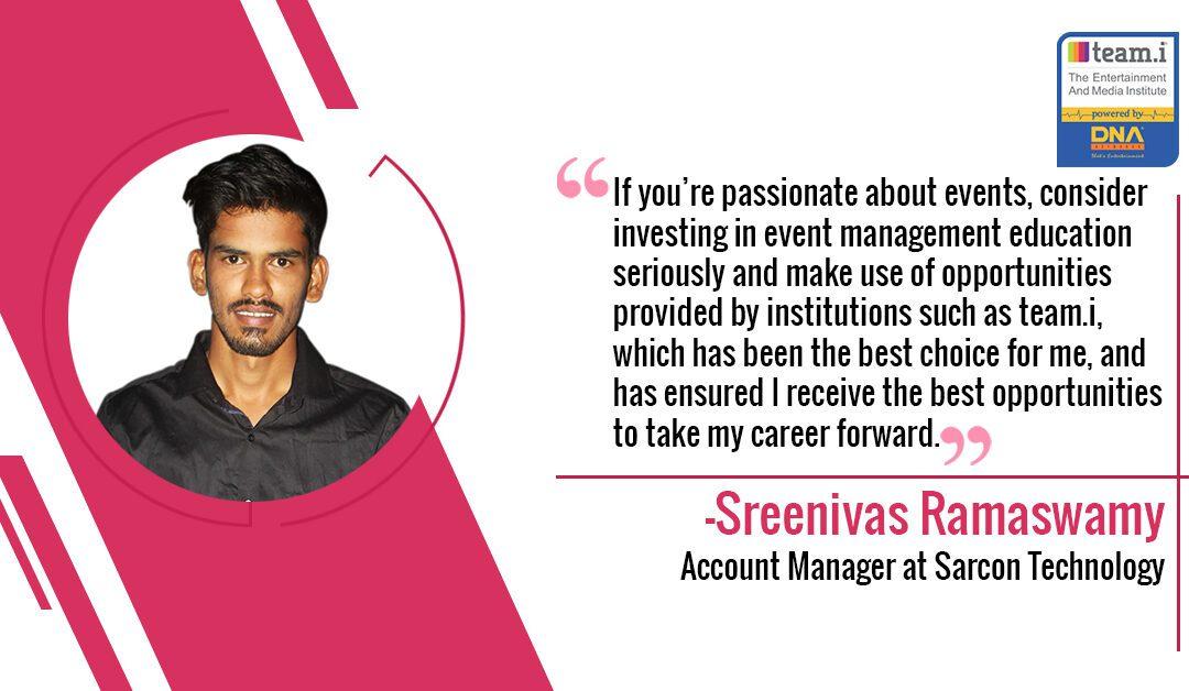 team.i Helped Sreenivas To Land On A 7.5L Job Package